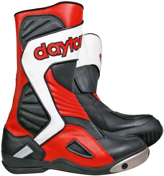 Stiefel DAYTONA EVO VOLTEX Rot-Schwarz-Weiß