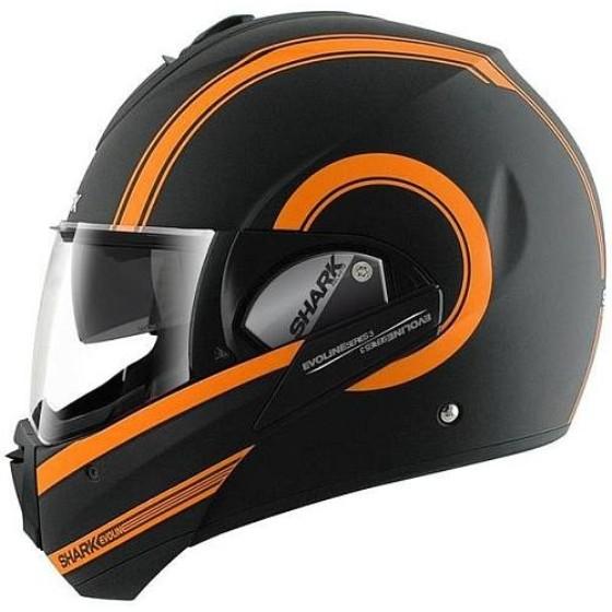 černá/oranžová