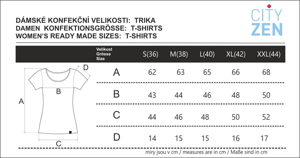 Velikostní tabulka_CITYZEN_trika_dámská.png - PSí Hubík