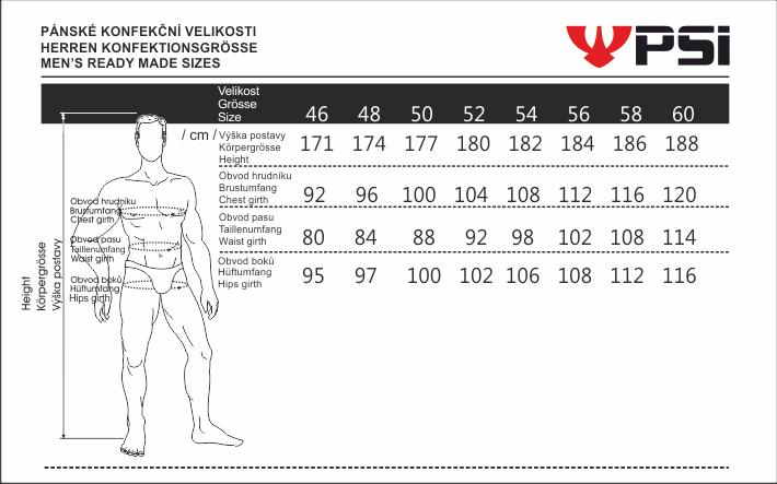 Velikostní tabulka_PSí_pánská.png - PSí Hubík