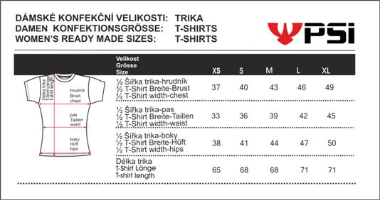 Velikostní tabulka_REJOICE trika_dámská.png - PSí Hubík