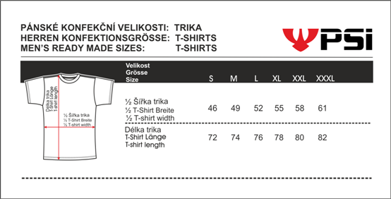 Velikostní tabulka_REJOICE trika_pánská.png - PSí Hubík