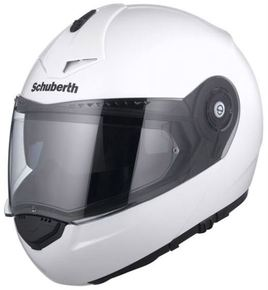 Schuberth C3 Pro - glossy white.jpg - PSí Hubík